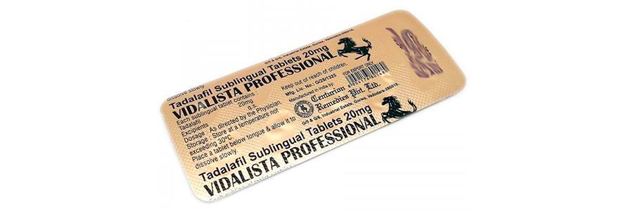 acheter Vidalista Professional en ligne